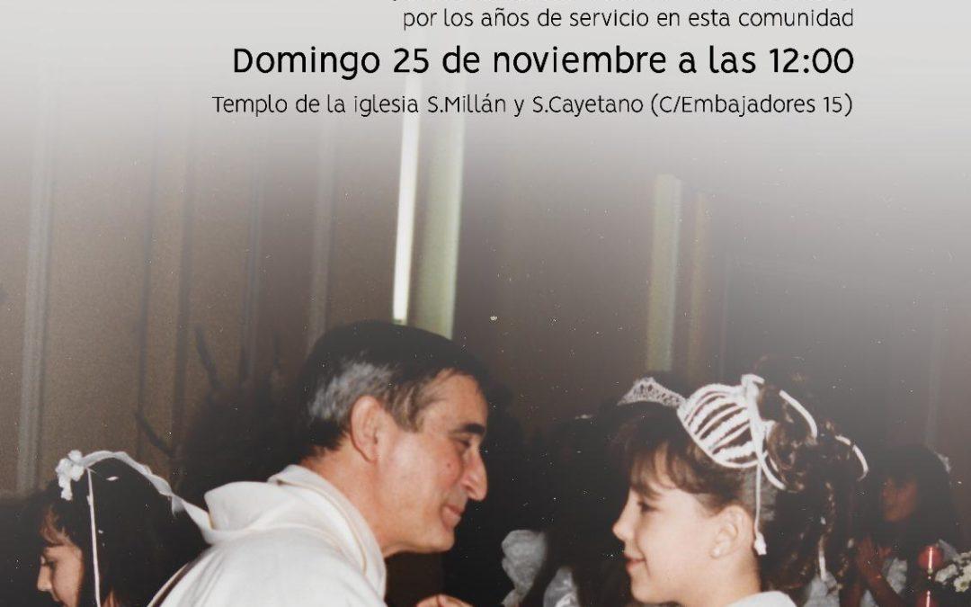 Misa de Acción de Gracias y Placa conmemorativa a D. Clemente García