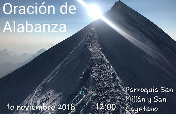 Oración de Alabanza – Sábado 10 de Noviembre de 2018