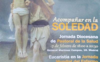 Acompañar en la Soledad – Jornada Diocesana de Pastoral de la Salud