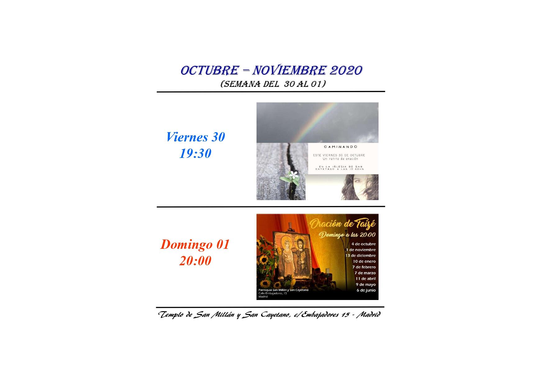 parroquia-san-millan-san-cayetano-actividades-del-30-octubre -1-noviembre