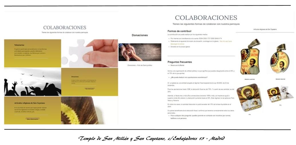 Cartel de Colaboraciones y donaciones – Abr. 2021