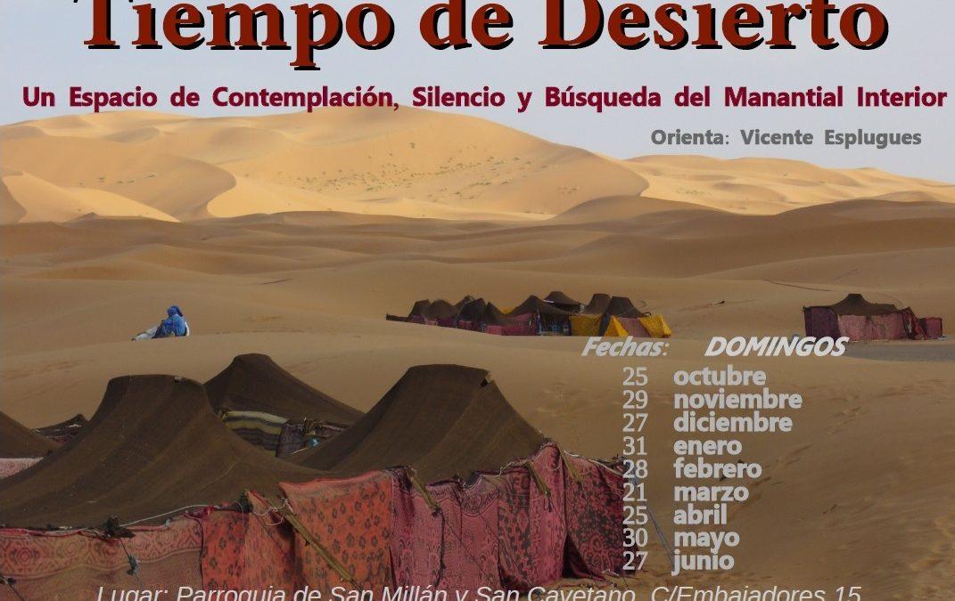 Tiempo de desierto 30 mayo 2021